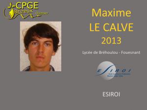 Brehoulou-2013-Le Calve