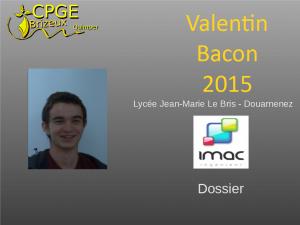 Jean Marie Le Bris-2015-Bacon-V